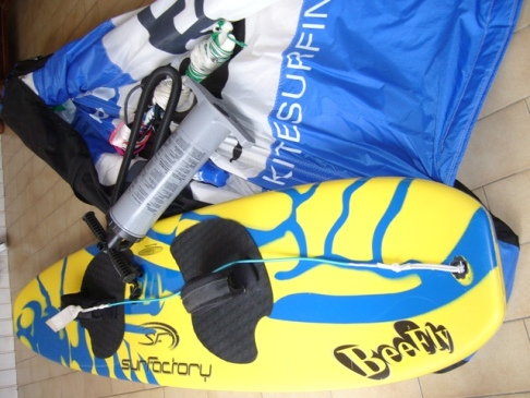 kitesurf-complet-windtool-et-planche-beefly-