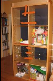 bibliotheque-ikea-avec-portes-vitrees-