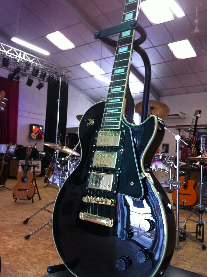 guitare-lespaul-epiphone-custom