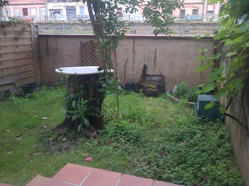 Immobilier vente appartements t2 toulouse 31 for Jardin appartement