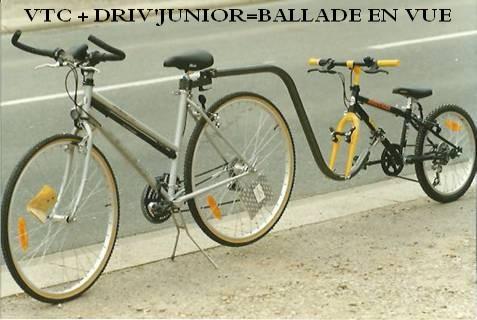 Cycles et v los d 39 occasion vtt v lo route vtc toulouse for Remorque velo monoroue decathlon