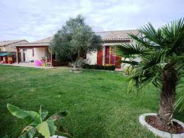 Proche Cazères villa T5 avec garage de 48 m² et 1000 m² de terrain