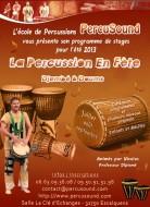 annonces.Toulouse-annuaire - Percusound - La Fête De La Percussion : Stages été Toulouse 2013
