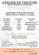 annonces.Toulouse-annuaire - Cours De Théâtre Et Développement Personnel [+ De 18 Ans]