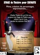 annonces.Toulouse-annuaire - Stage Théâtre Enfants, Vacances été 2017, à Toulouse (31850)
