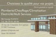 annonces.Toulouse-annuaire - Plombier Chauffagiste Climatisation électricité
