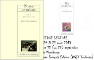 annonces.Toulouse-annuaire - Stage De Lecture Pour Comédiens à Toulouse