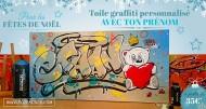 annonces.Toulouse-annuaire - Toile Graffiti Personnalisé Pour Noël