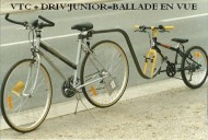 annonces.Toulouse-annuaire - Remorque Vélo Tandem Barre Attelage Enfant