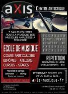 annonces.Toulouse-annuaire - Cours De Batterie Toulouse Centre Artistique Axis Musique