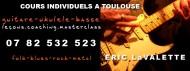 annonces.Toulouse-annuaire - Cours Eric Lavalette - Guitar School à Toulouse